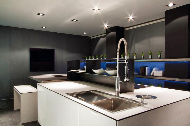 Foto cocinas de dise o a precios de f brica de cuines for Diseno de cocinas minimalistas