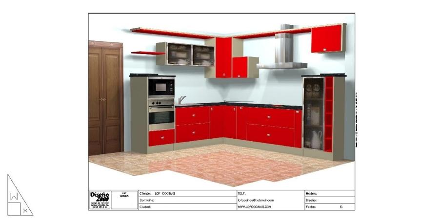 Foto cocinas de dise o de lof cocinas illescas 141638 for App diseno cocinas