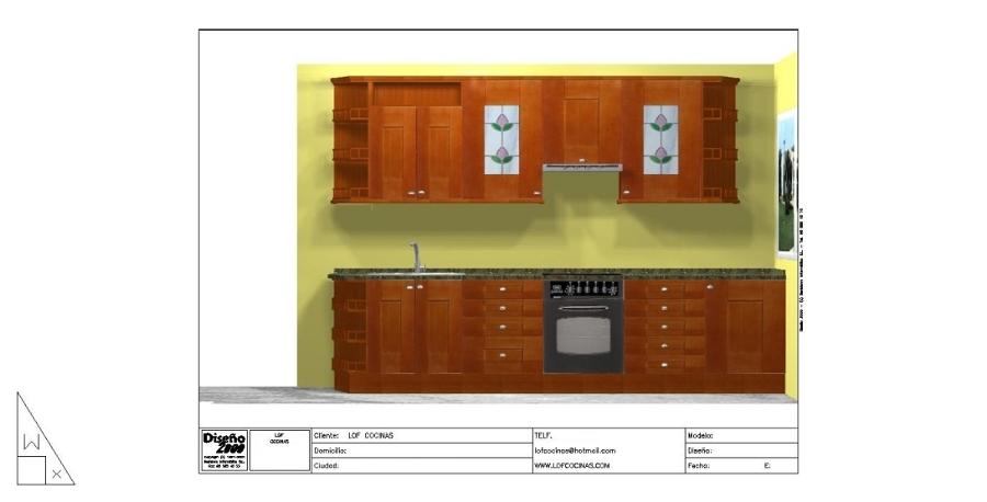 Foto cocinas de polilaminado a precio de formica de lof for Cocinas castellon precios