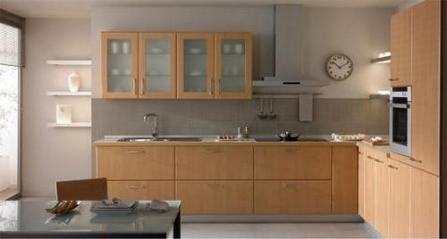 Foto cocina empotrada de decoraciones ambientes - Cocinas disenos fotos ...
