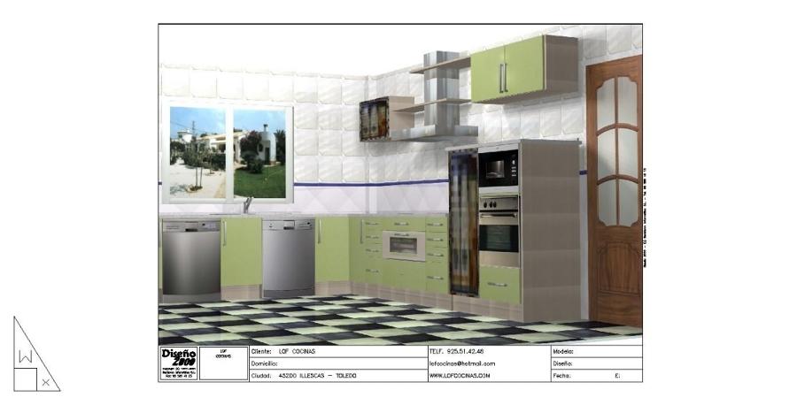 foto cocinas integrales de lof cocinas illescas 141637