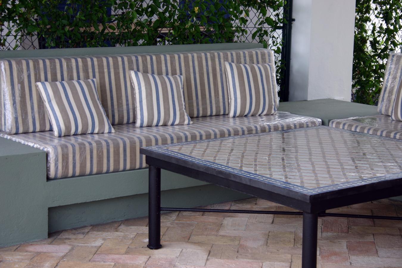 Foto cojines terraza de tapicecor 322332 habitissimo - Cojines para terrazas ...