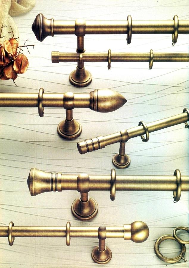 Foto coleccion barras cortinas bronce de corticolors - Barra de cortina ...