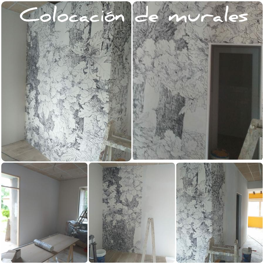 Colocación de murales