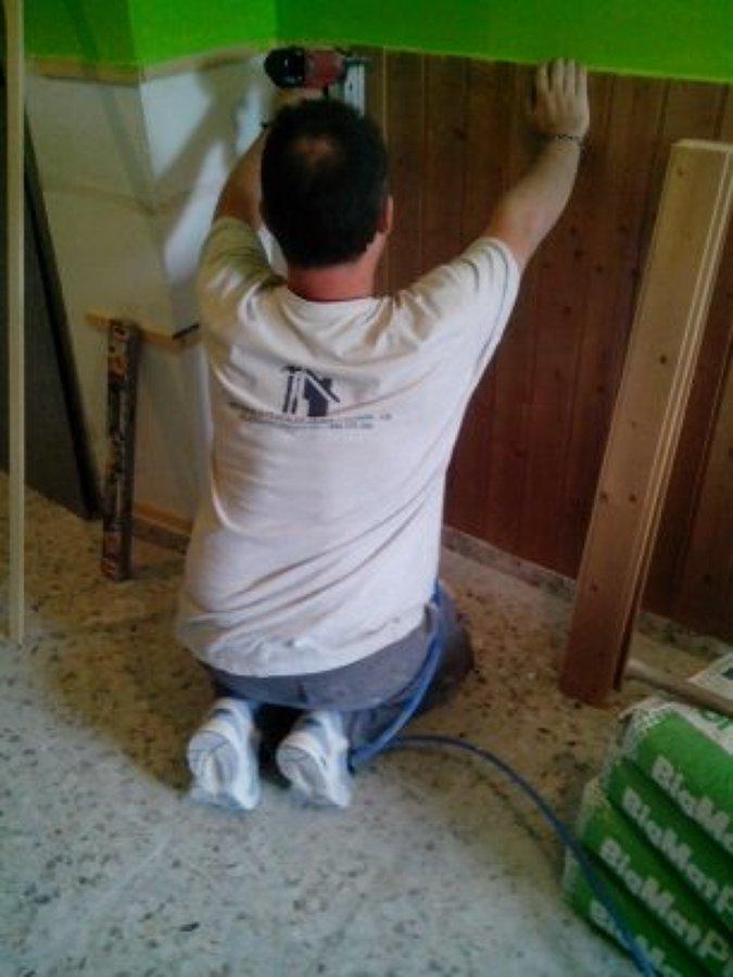 colocacion de fliso de madera