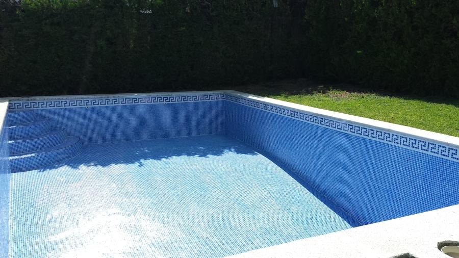 Foto colocacion de gresite a piscina de serqualia - Precio gresite piscina ...