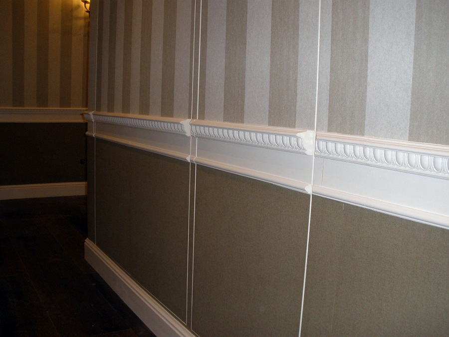 Foto papel vinilico en de ropero de pasillo de rea imasd - Papel vinilico pared ...