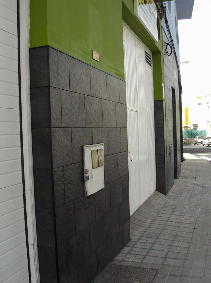 colocacion de piedra en fachada