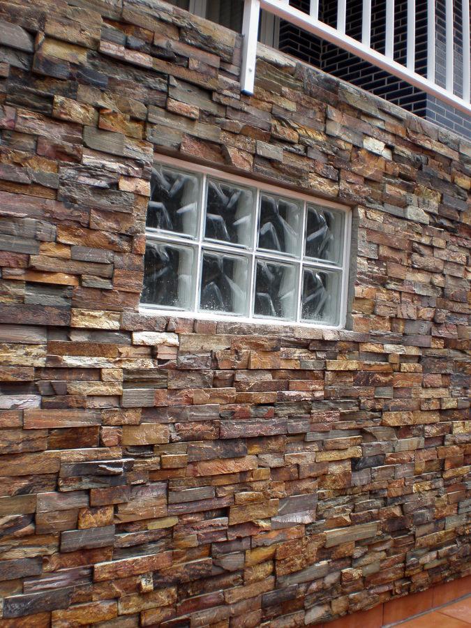 Foto colocaci n de piedra natural de corema - Colocacion de piedra natural ...