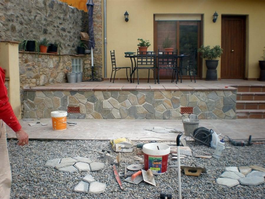 Foto colocacion piedra natural de osfer reformas 332431 - Colocacion de piedra natural ...
