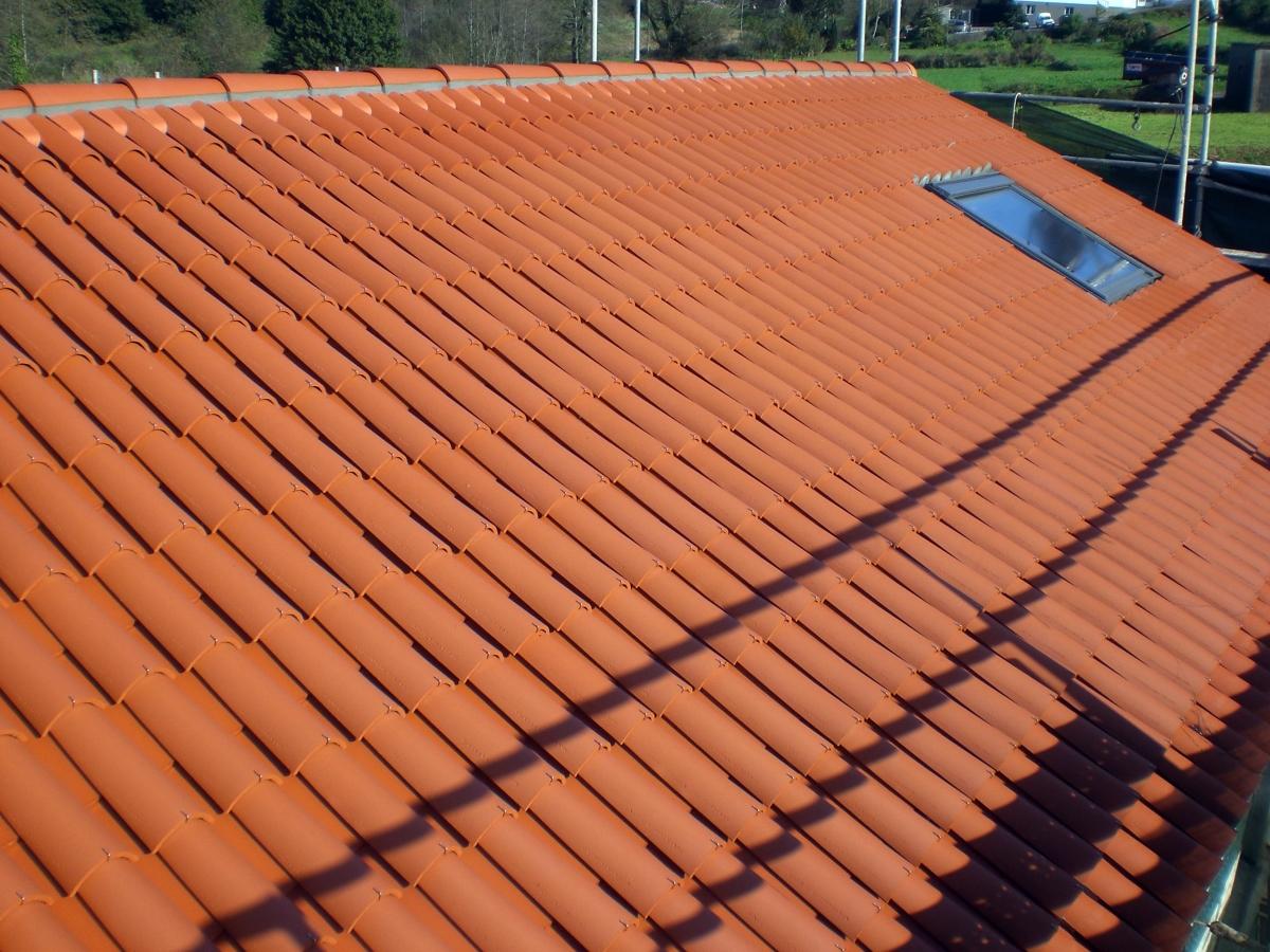 Colocacion tejado nuevo