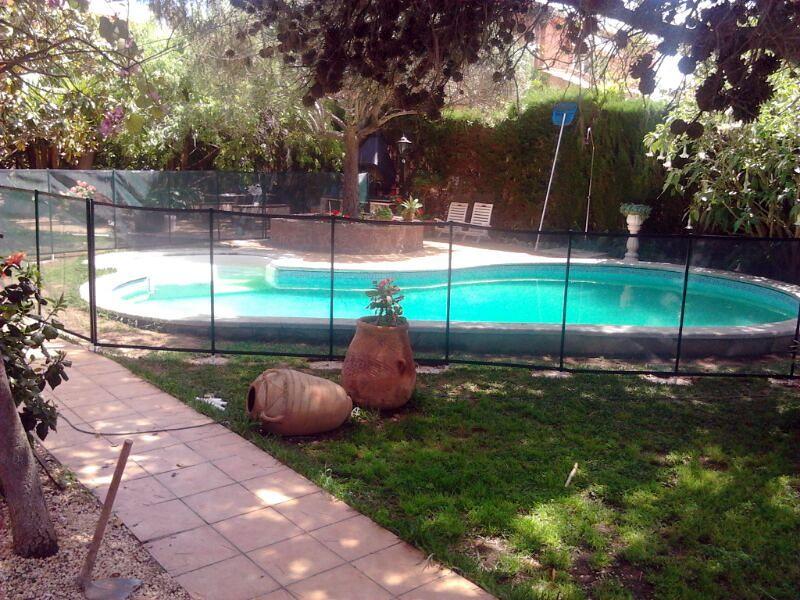 Colocacion vallado para piscina