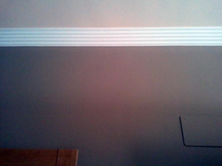 Combinacion moldura techo y pared