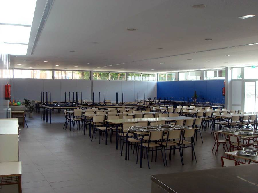 Foto comedor escolar de d 39 intorno servicios arquitectura 1049301 habitissimo - Proyecto de comedor escolar ...