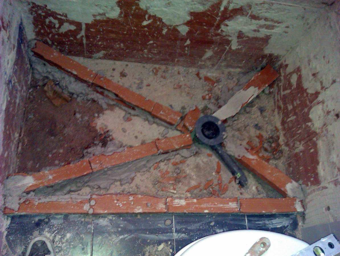 Foto como hacer un plato de ducha de obra de aurelantonio - Como hacer plato de ducha de obra ...