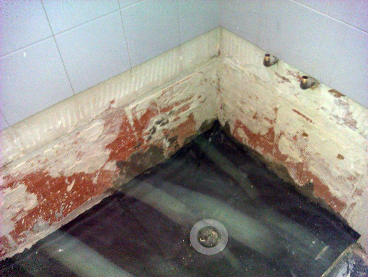Foto como hacer un plato de ducha de obra de aurelantonio interiorismo y reformas 252920 - Como se coloca un plato de ducha ...