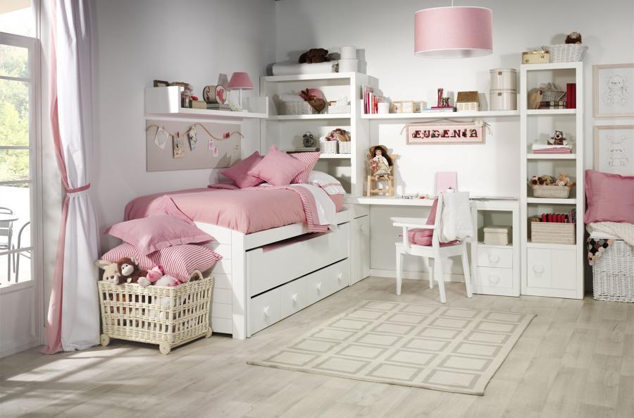 Dormitorio juvenil Verdeoliva