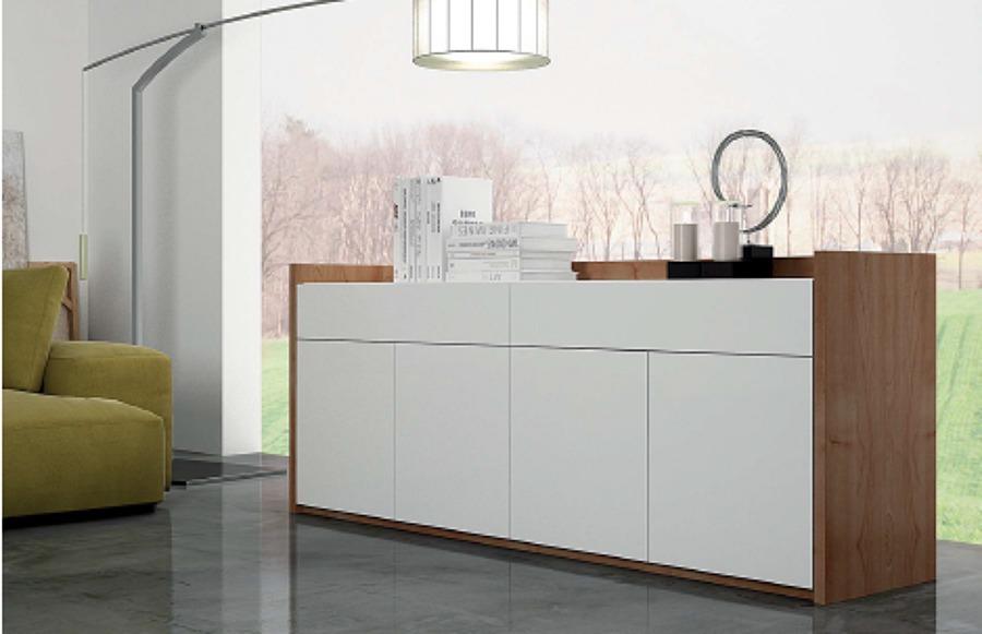 Foto composicion de aparador moderno de zen dec 465307 for Aparadores altos modernos