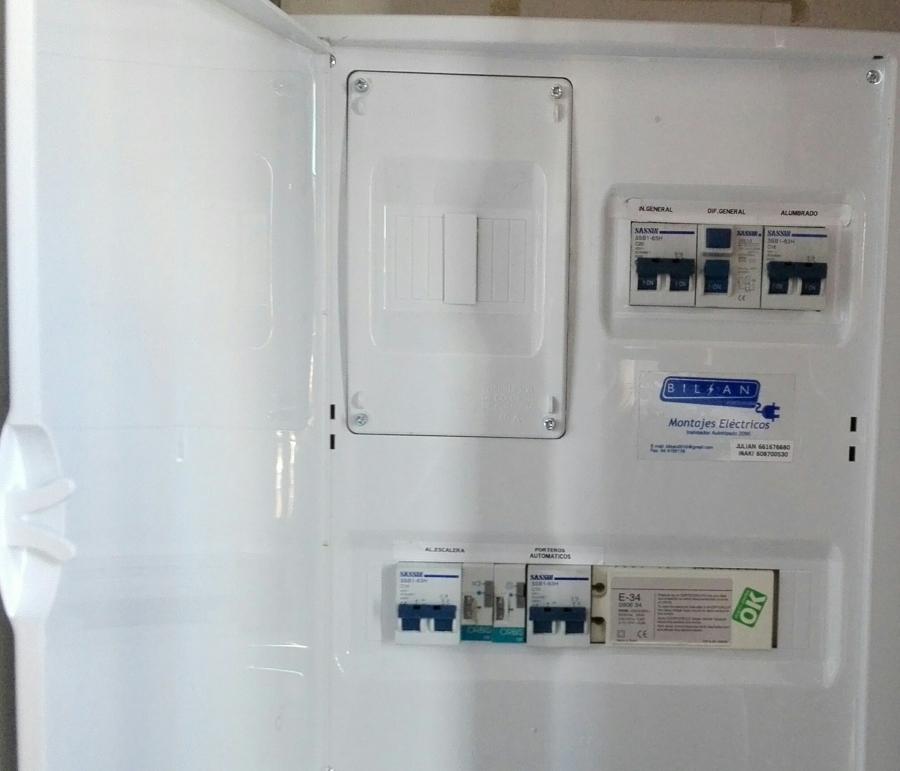 Foto cuadro protecci n zonas comunes zum rrda 10 bilbao - Electricistas en bilbao ...