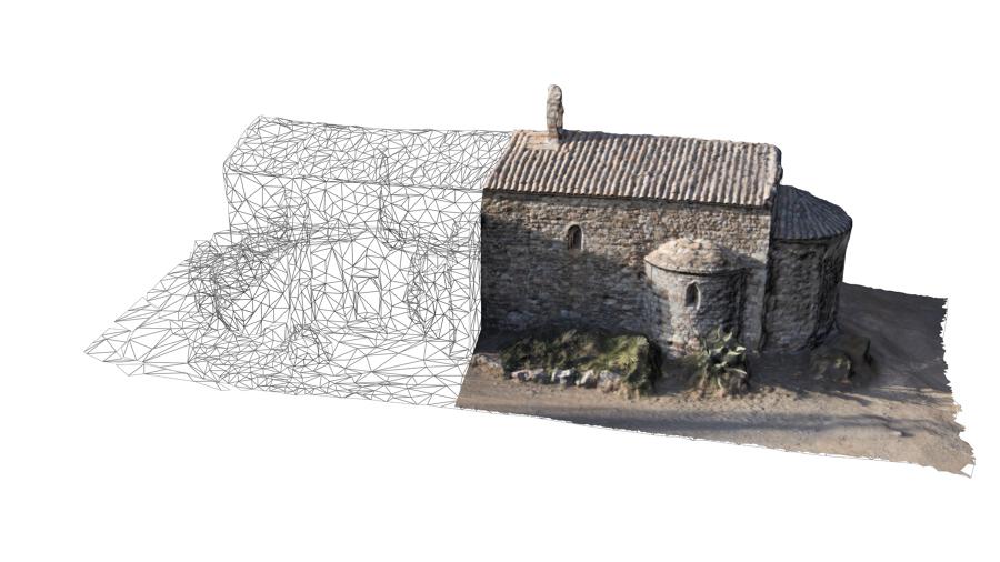 Edificio escaneado en 3D