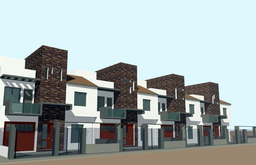 Foto conjunto de viviendas unifamiliares en c rdoba de - Arquitectos en cordoba ...