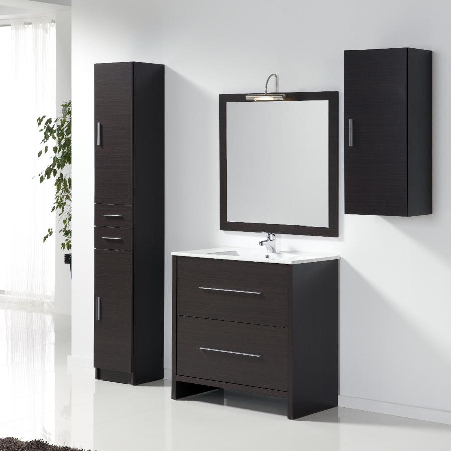 foto conjunto mueble de ba o lavella 80 cm 2 cajones