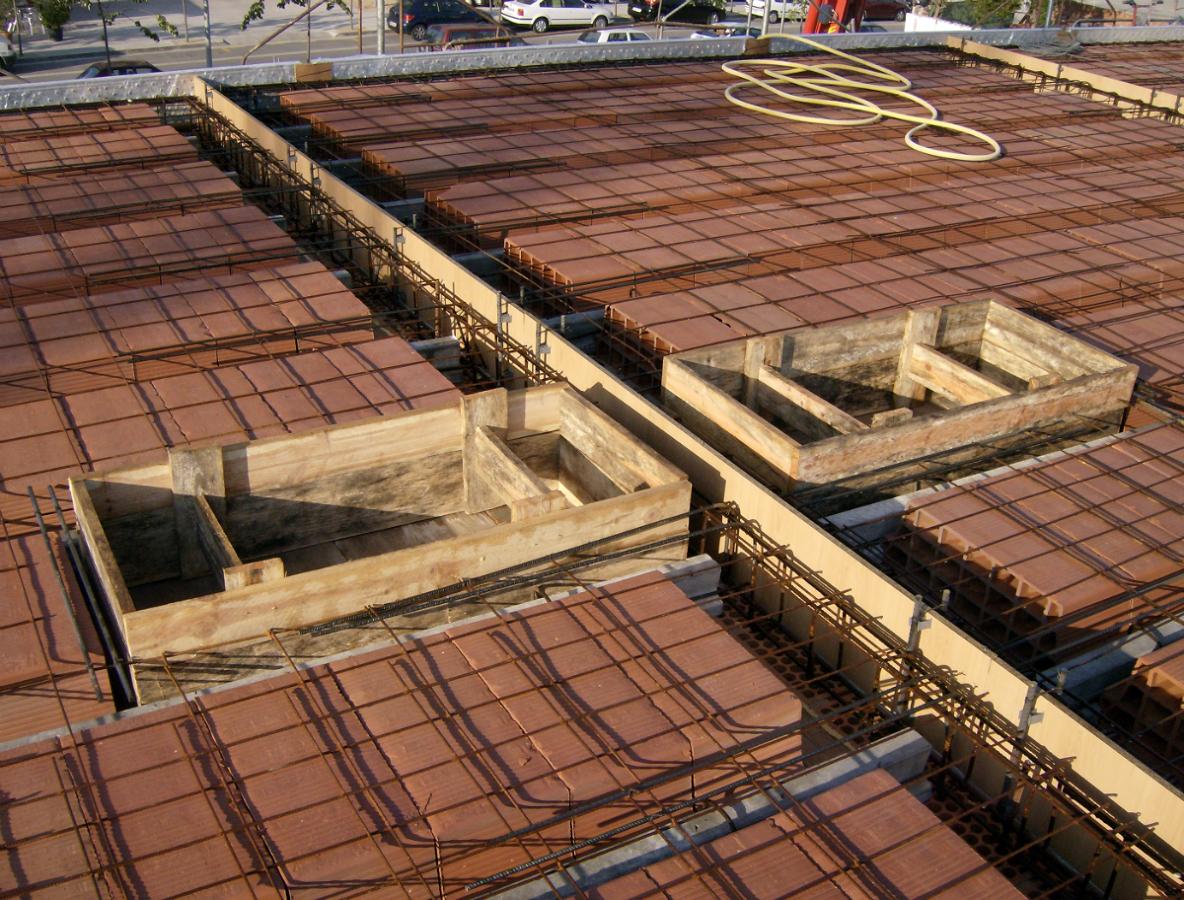 Construccio de forjat