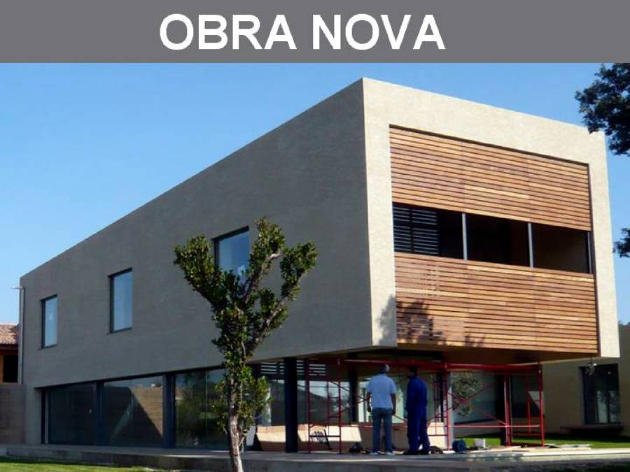 Construcció de noves edificacions