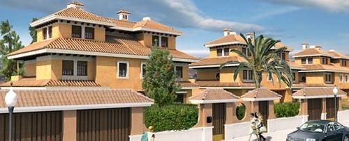 Construccion 163 unifamiliares pareados