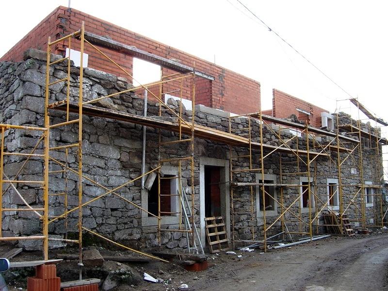 Foto construcci n casa rural almeida de sayago zamora de for Construccion de casas