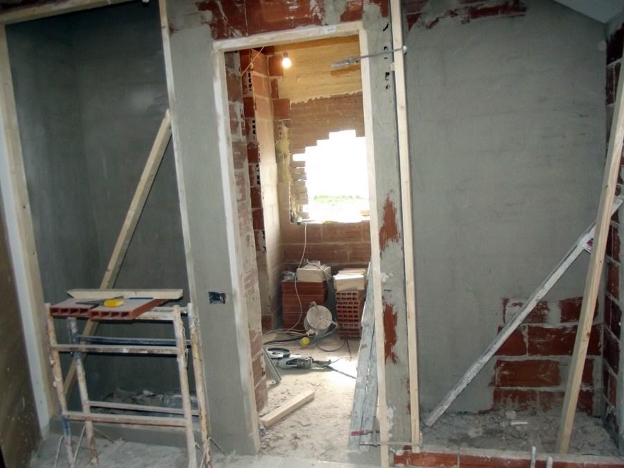 construccion de baño y armarios empotrados