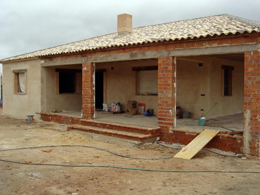 Foto construccion de casa rural de alhambra de mora for Construccion de casas