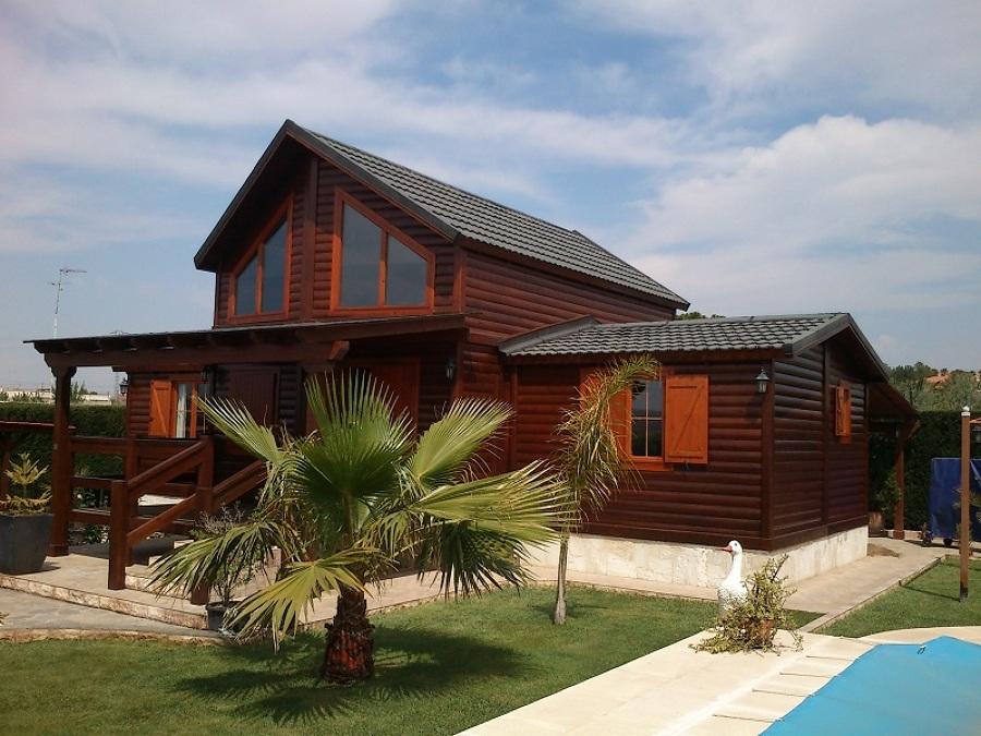 Foto construcci n de casas prefabricadas de madera de - Casas prefabricadas en las palmas ...