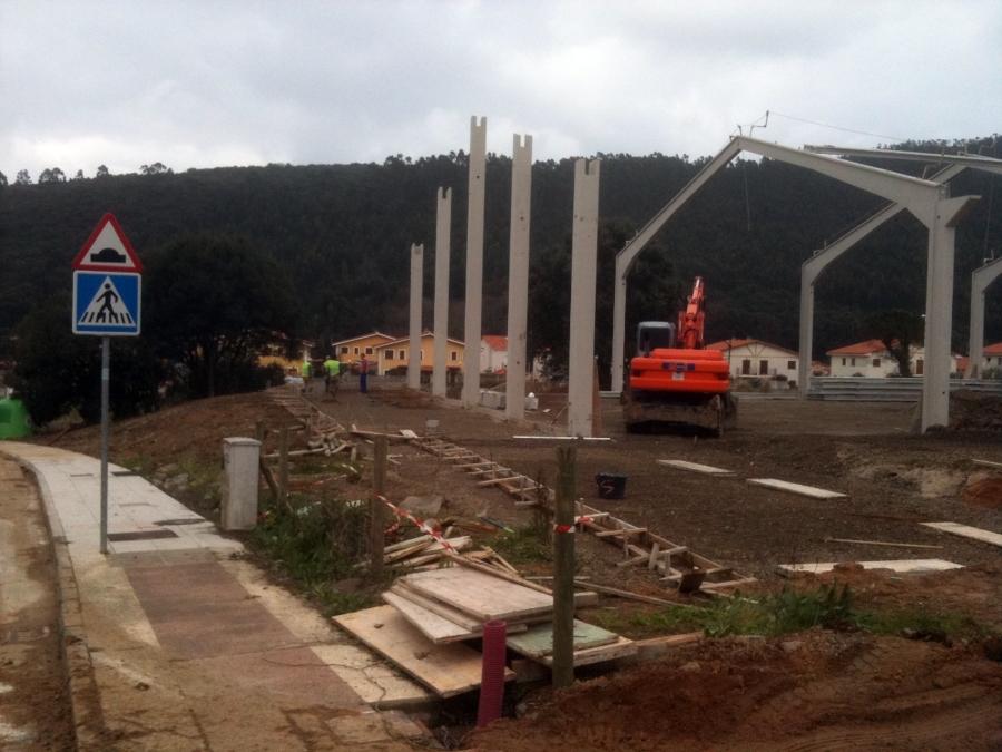 CONSTRUCCION DE CENTRO DEPORTIVO ARGOÑOS