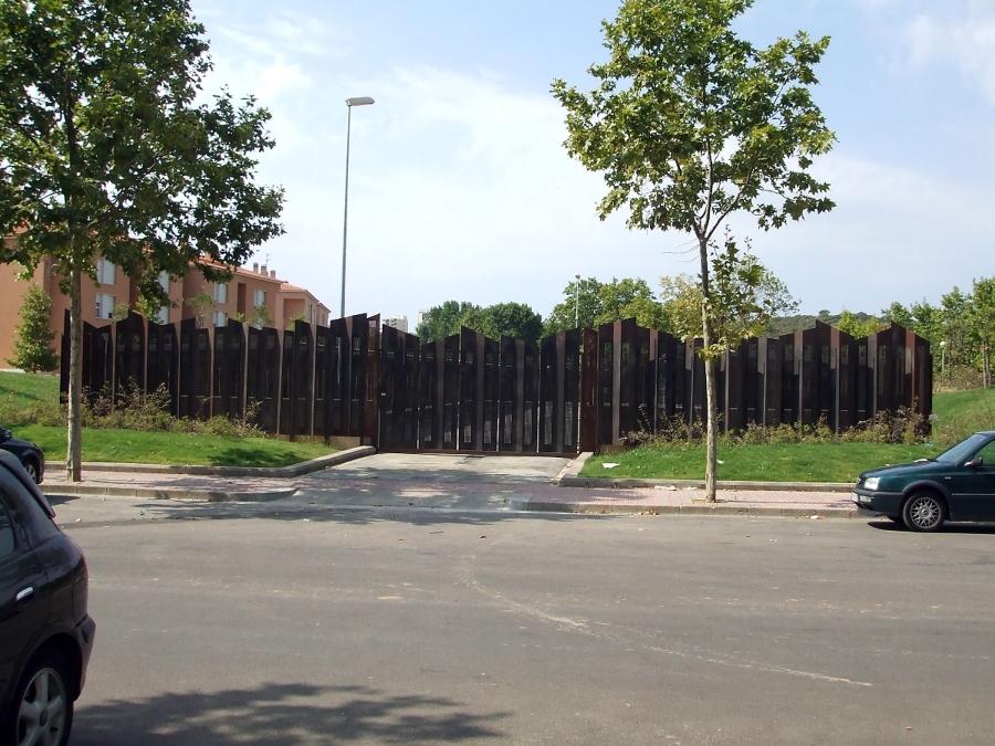 Construcción de deposito de vehículos municipal