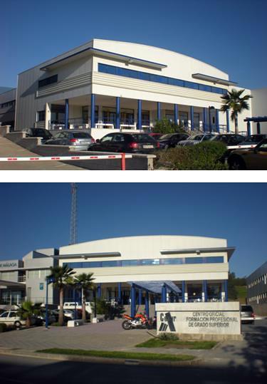 •CONSTRUCCIÓN DE EDIFICIO DESTINADO A LA FORMACIÓN PROFESIONAL EN P.T.A. (MÁLAGA).