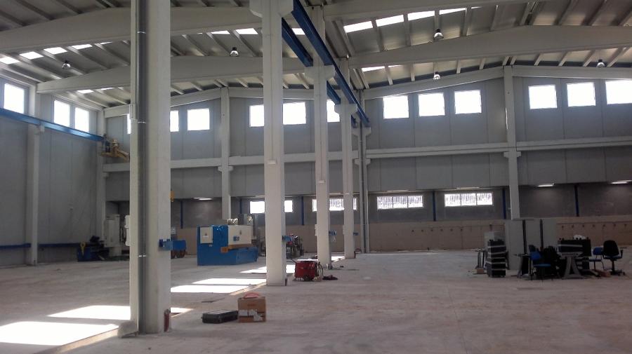 Construcción de naves industriales en La Unión (Murcia)