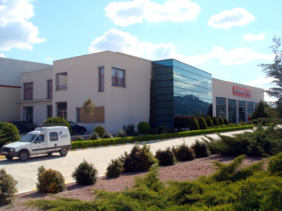 Foto construcci n de oficinas en castalla de promogal for Construccion de oficinas