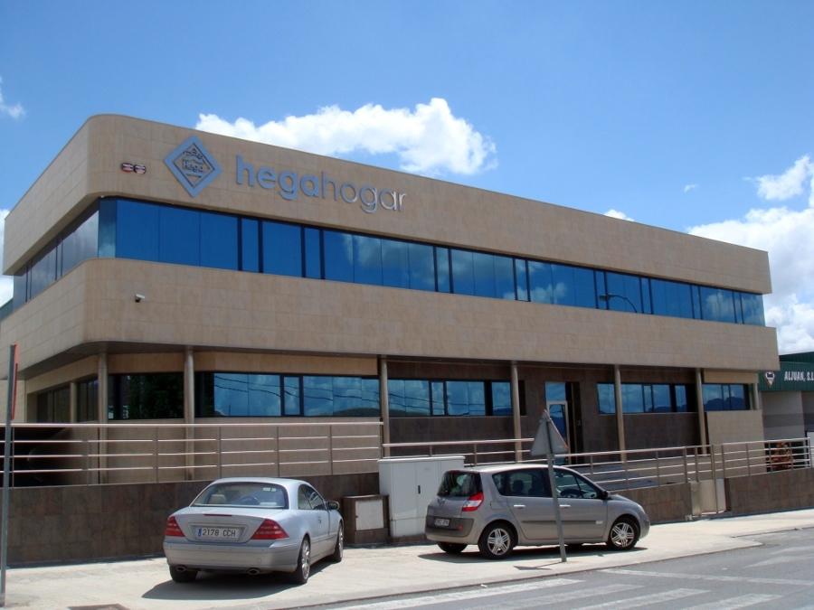 Foto construcci n de oficinas en ibi de promogal andr s for Construccion de oficinas