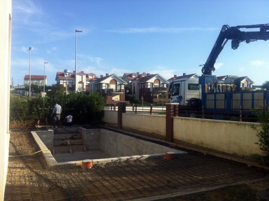 construcción de piscinas en viviendas unifamiliares o comunitarias