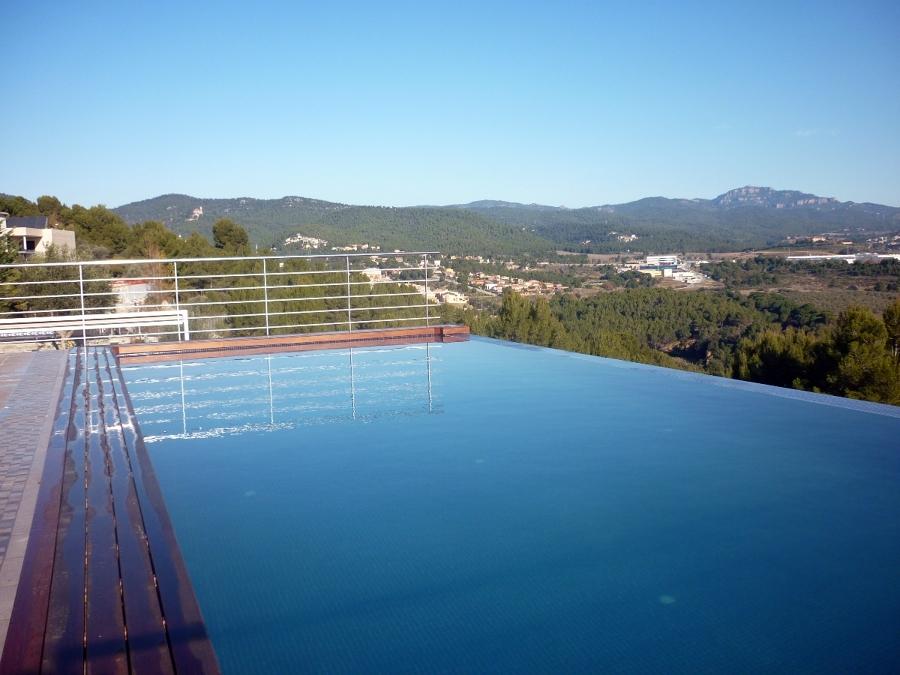 construcción de piscinas.