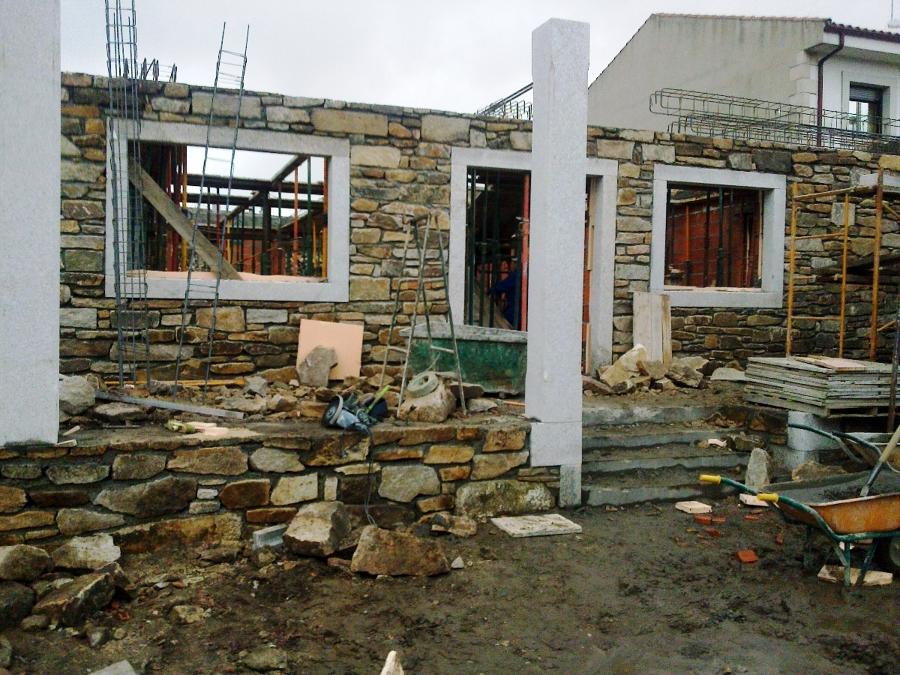 Foto construcci n en piedra casa en bermillo de sayago - Construccion casa de piedra ...