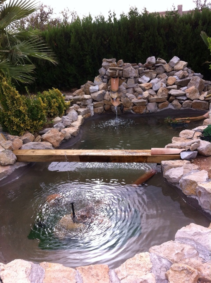Construccion lago