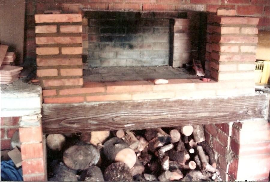 Construcción porche con barbacoa y horno de leña