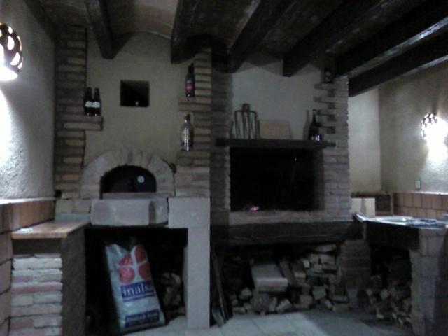Foto construcci n porche con barbacoa y horno de le a de constru llars anoia 177820 habitissimo - Barbacoas y hornos de lena ...