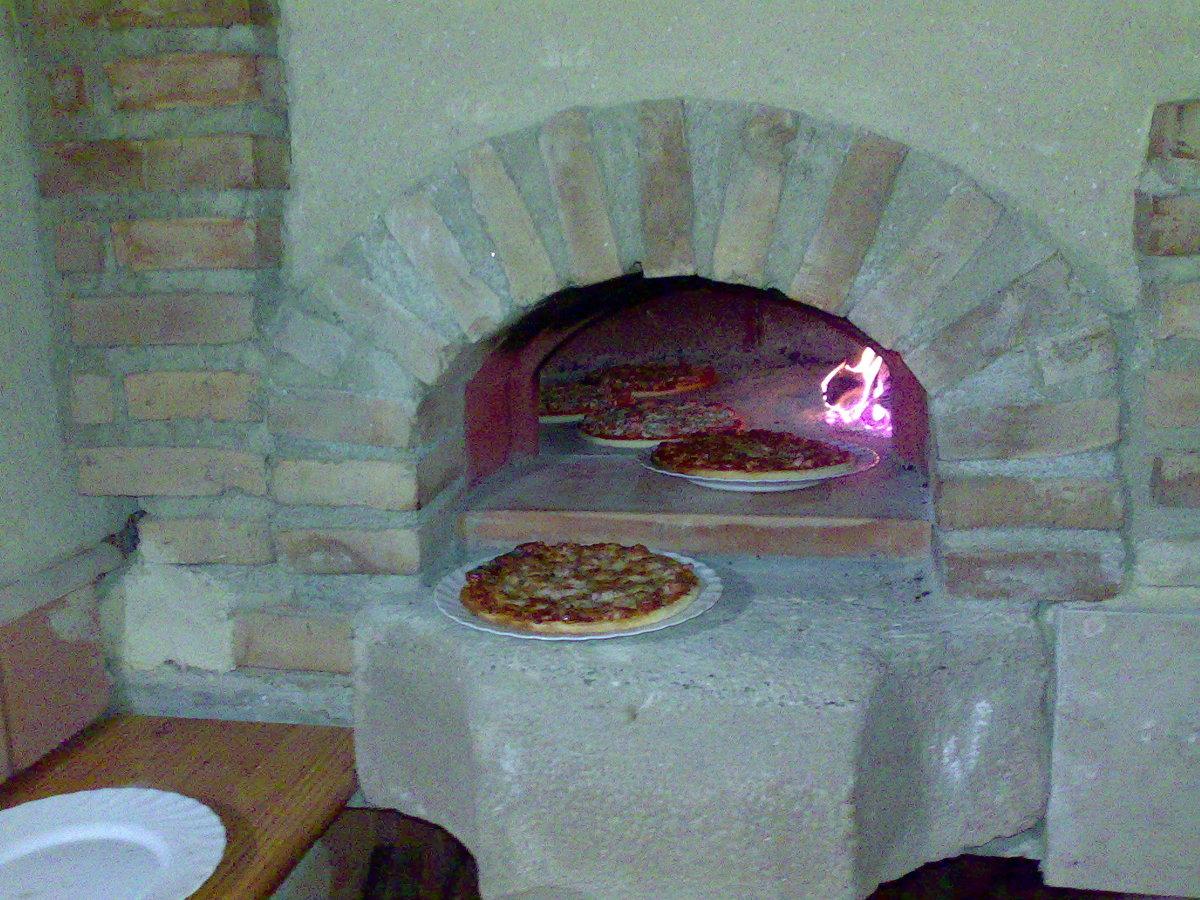 Foto construcci n porche con barbacoa y horno de le a de - Barbacoas y hornos de lena ...