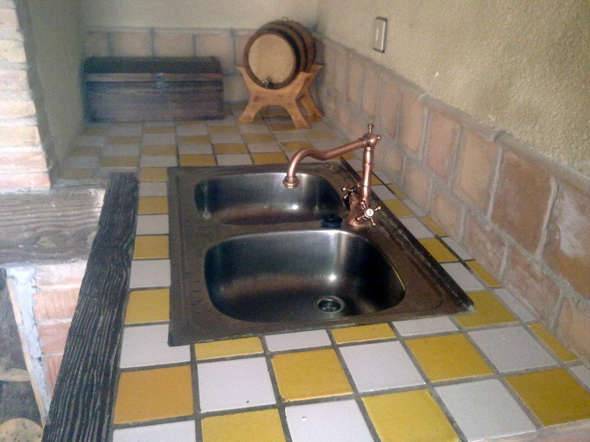 Foto construcci n porche con barbacoa y horno de le a de constru llars anoia 177824 habitissimo - Horno de lena y barbacoa ...
