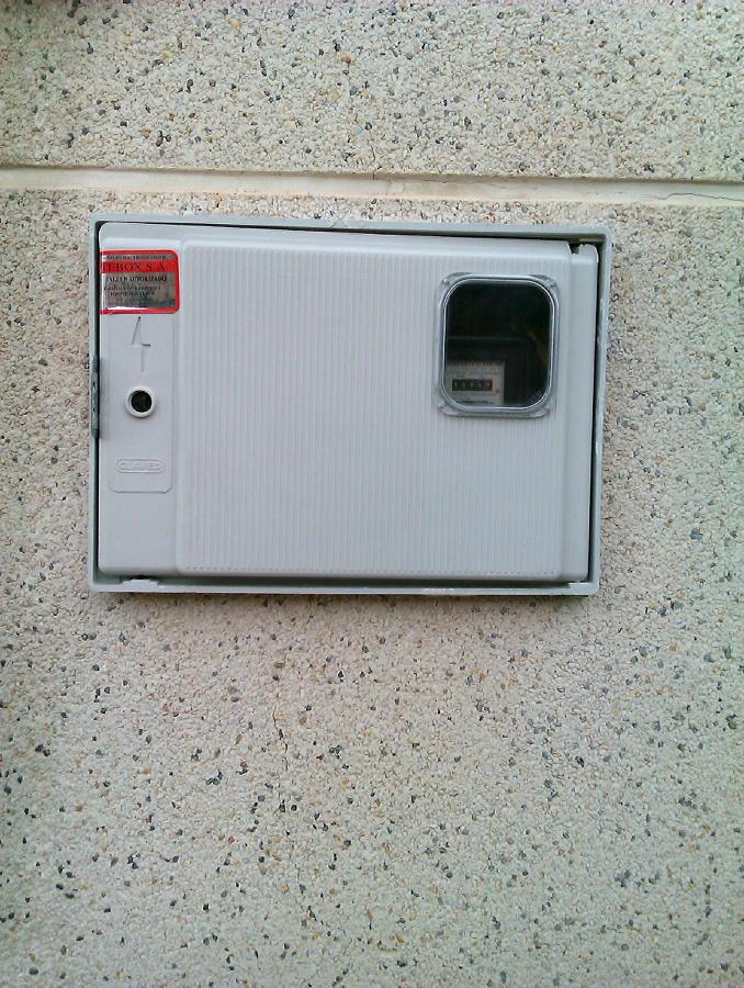 Foto contador de electricidad moreno 254429 habitissimo for Contador de luz precio