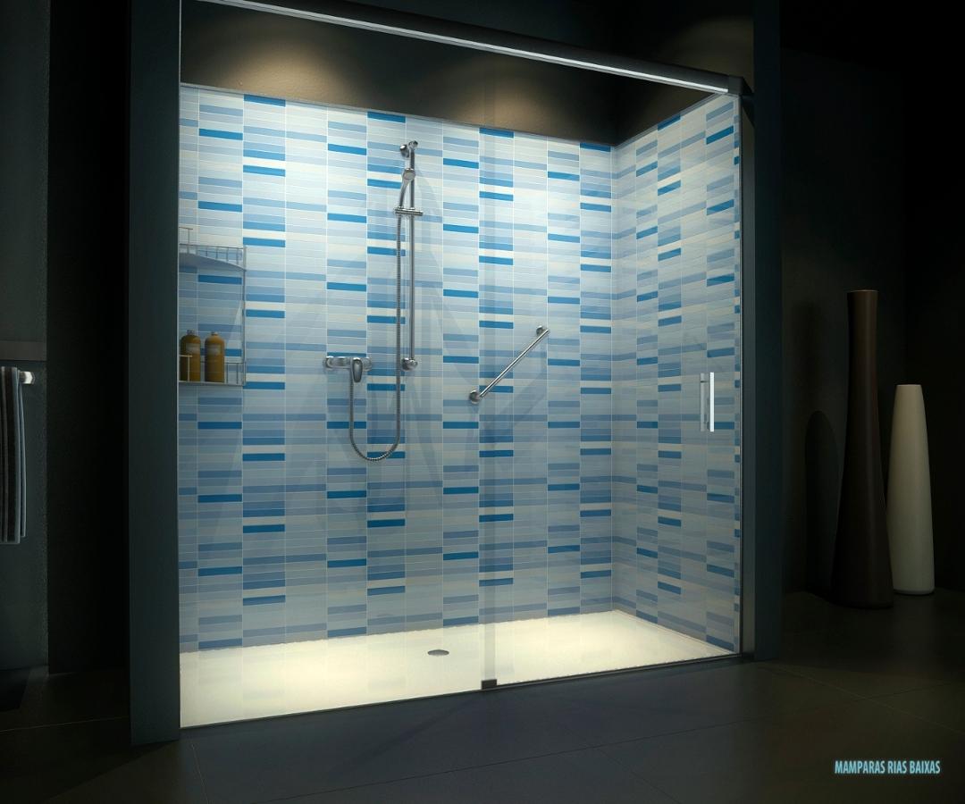 Foto convertir ba era en ducha azul de mamparas rias baixas ba os y cocinas 312978 habitissimo - Convertir banera en ducha ...