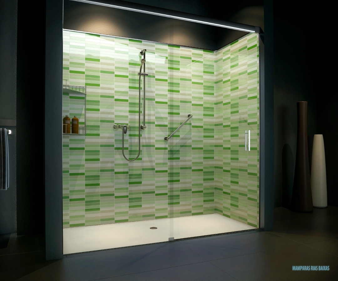Foto convertir ba era en ducha verde de rias baixas - Convertir banera en ducha ...